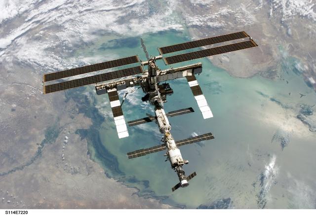 The space station had resumed regular flights
