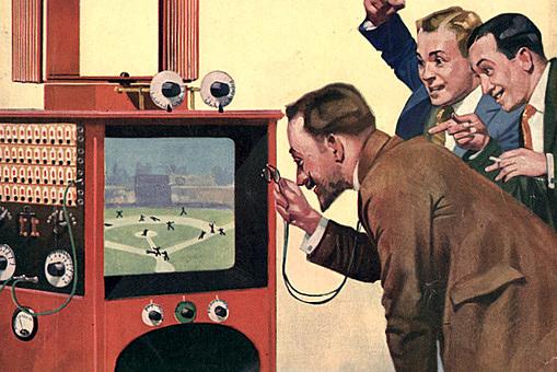 RCA Victor показала полностью электронные цветные телевизионные изображения