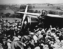 First woman flies across Atlantic