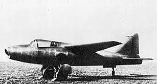 First jet-propelled aircraft