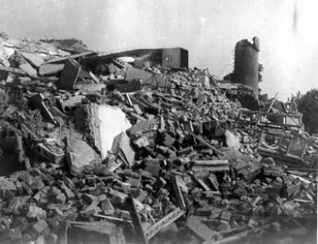 2º terremoto con mayor nº de víctimas