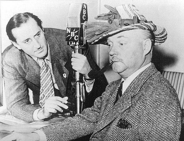Первые регулярные телепередачи на базе станции, созданной радиокорпорацией NBC.
