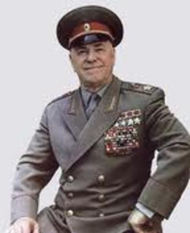 Zhukov's Removal