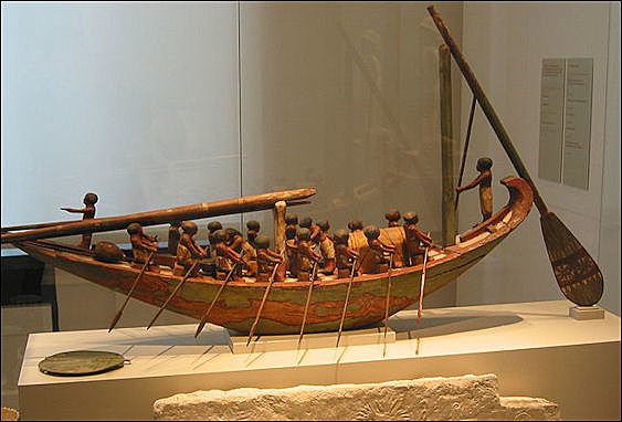 Ancient Egyptian Mortise and Tenon Boats