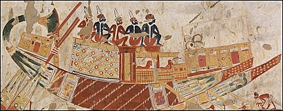 Military Use of Boats in Ancient Egypt