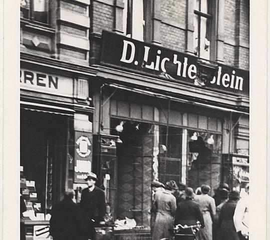 Le 10 novembre 1938: La Nuit de Cristal