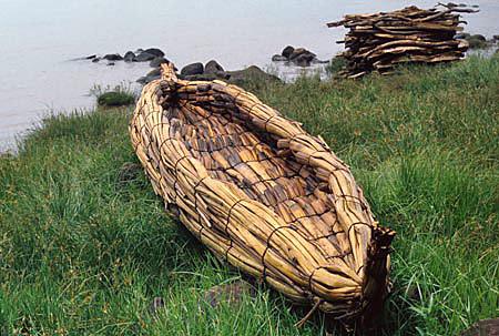 Mesopotamian reed boats