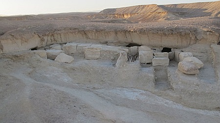 Wadi al-Jarf is an ancient Egyptian port