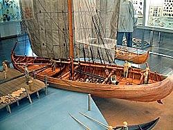 Knarr by Vikings