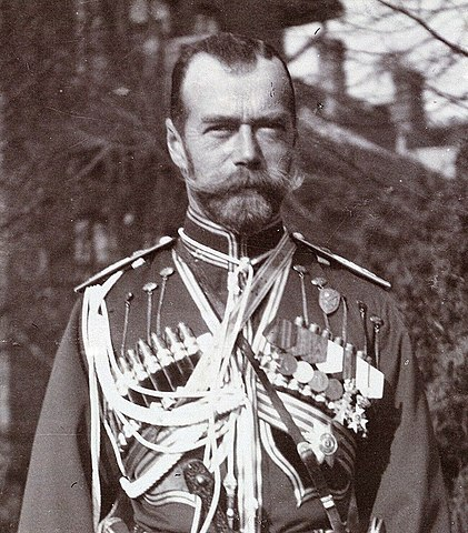 The last Czar Takes control of the army.