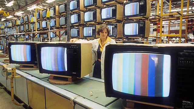 Первая цветная трансляция в США