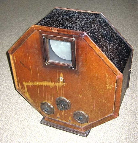 Первое устройство механического сканирования