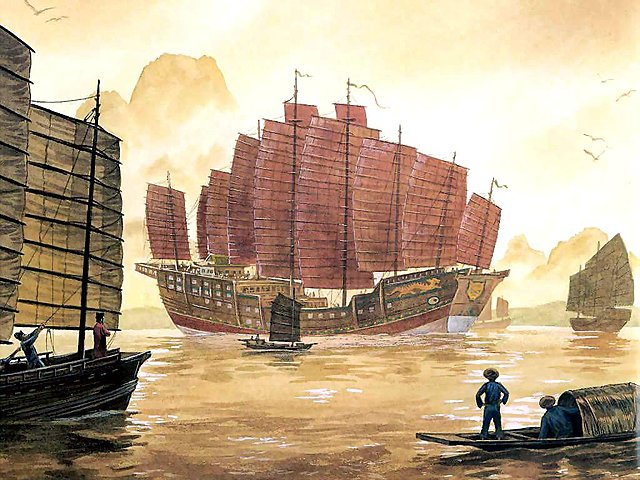 Invention of Rudder in China