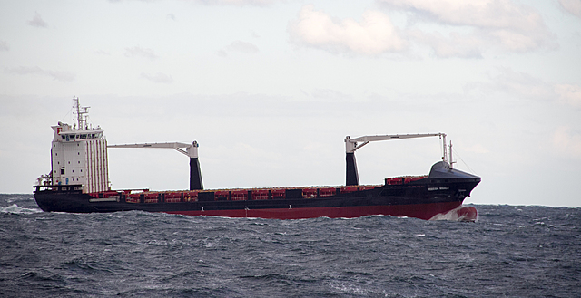 Ships over 50 m long and stood out 4–7 m out of the water.