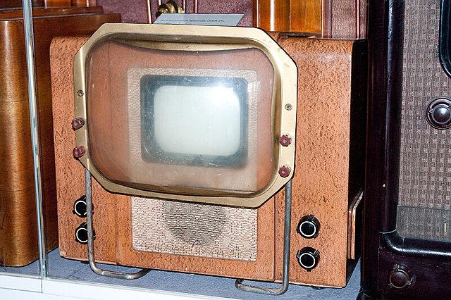 Первый электронный телевизор