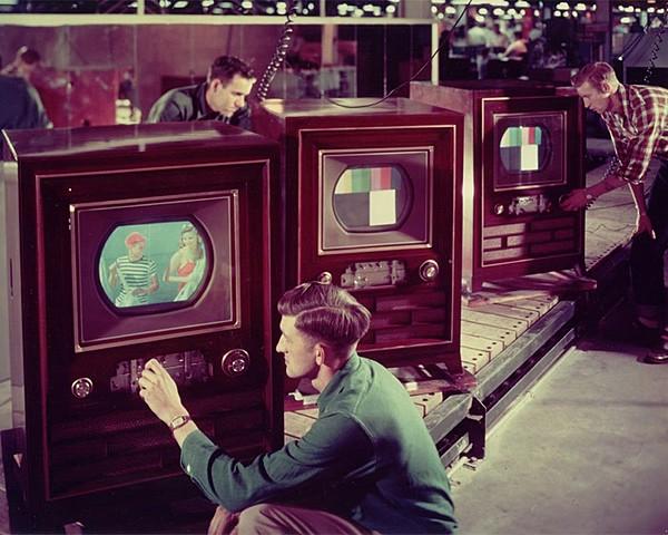 Первый цветной телевизор