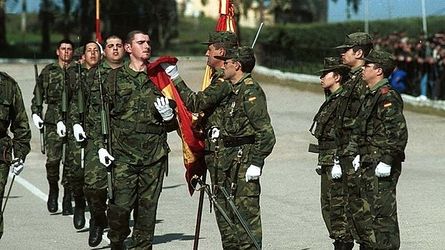MY DAD: Military service Zaragoza