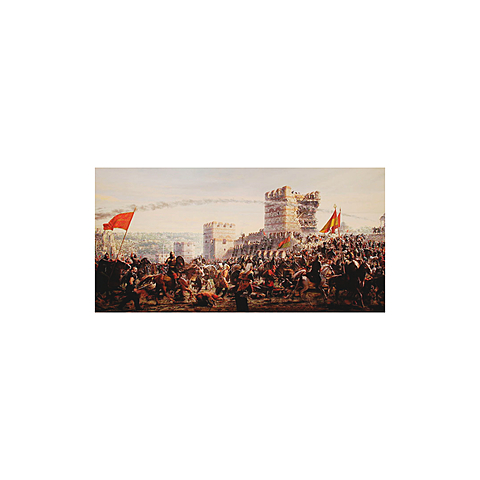 Eventos importantes: la caída de Constantinopla