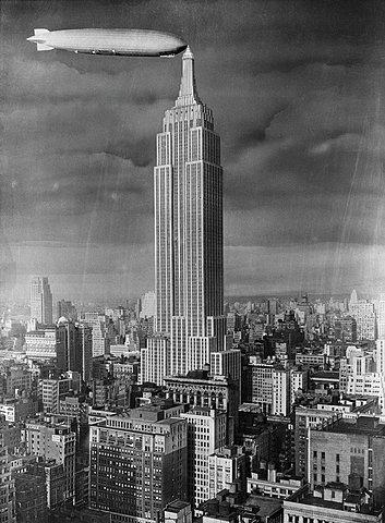 Тестовое вещание с Empire State Building