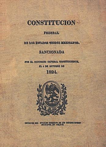 Constitución de 1824 (la primera)