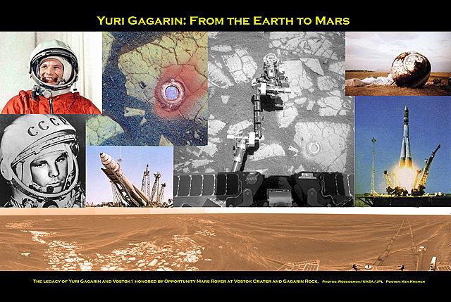 Vostok 1,  Γιούρι Γκαγκάριν, ο πρώτος άνθρωπος που ταξίδεψε στο διάστημα