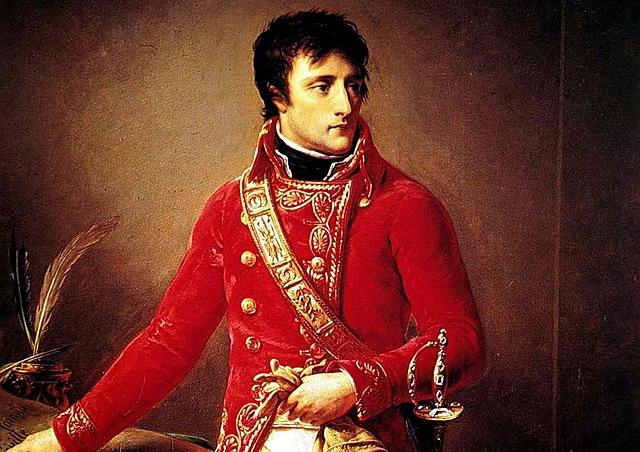 Napoleón es proclamado Primer Cónsul