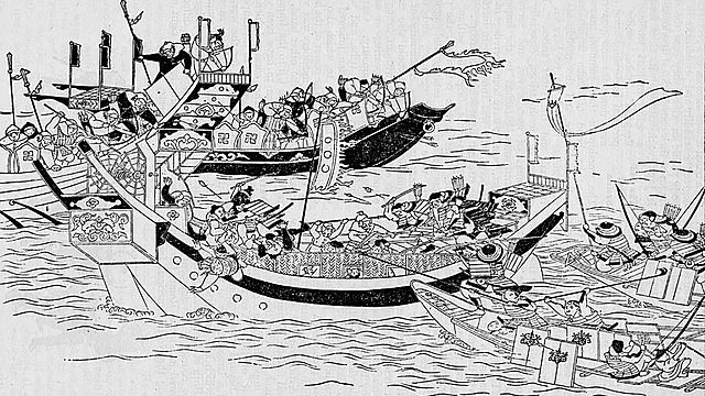 First invasion of japan