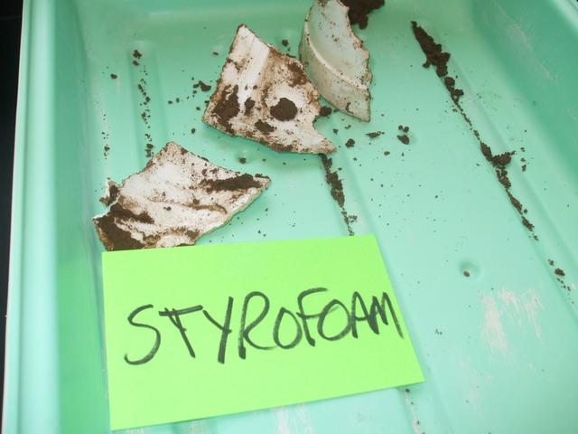 Styrofoam Conclusions