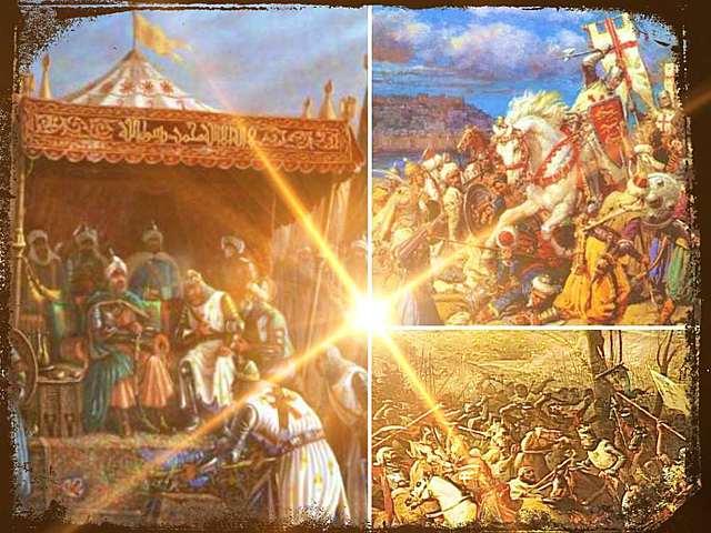 El papa Gregorio VIII convocó una nueva cruzada.