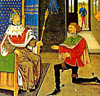 Coronacion de Alejo IV