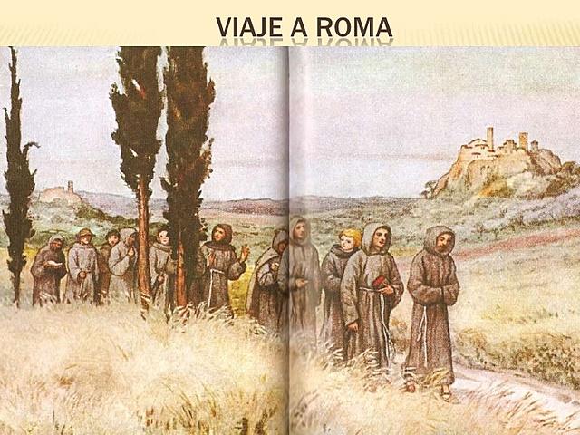 Francisco viajó a Roma