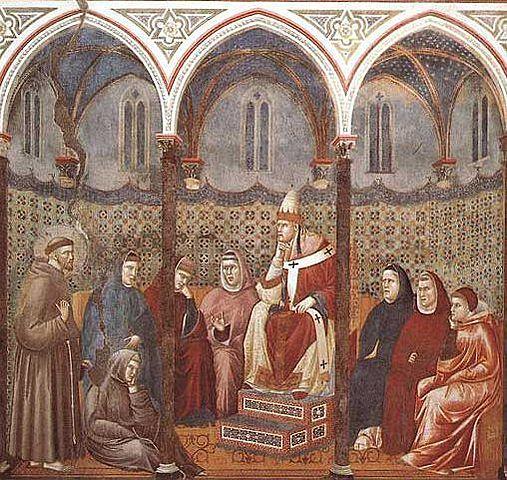 Nombramiento del cardenal Hugolino como protector ofm