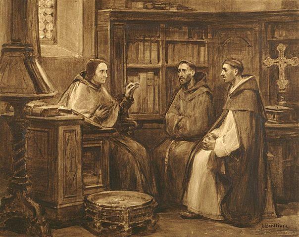 El papa Gregorio IX se fijara en los dominicos y franciscanos