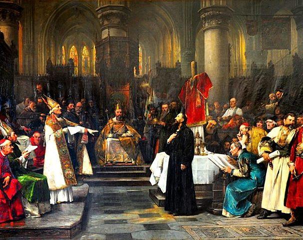 Inicio del concilio de Constanza