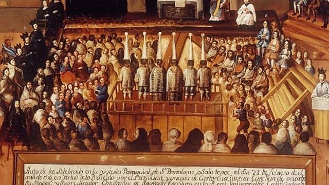 Comienza la actuación del tribunal de la Santa Inquisición en Sevilla