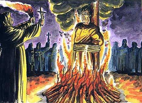 Judios quemados que no aceptaron bautizarse