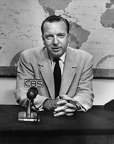 Начало карьеры Кронкрайта на CBS