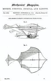 Cayley's Man-Carrying Glider