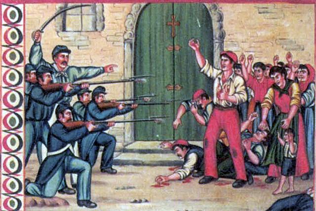repressione a Bronte