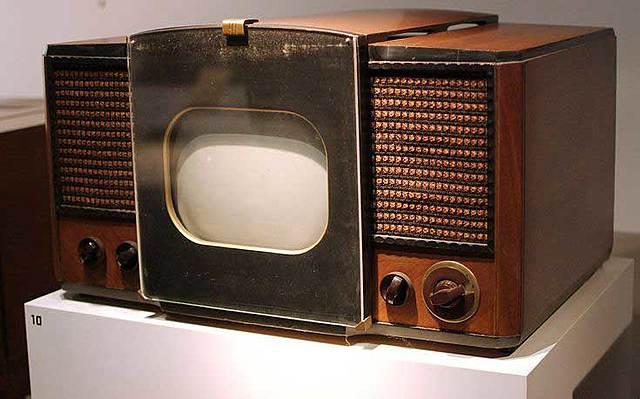 Первый телевизор от RCA