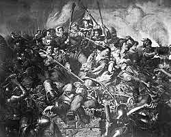 de Spaanse troepen met meer succes bevochten