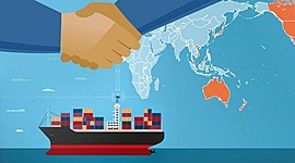 BACKGROUND AND DEVELOPMENT OF INTERNATIONAL TRADE timeline