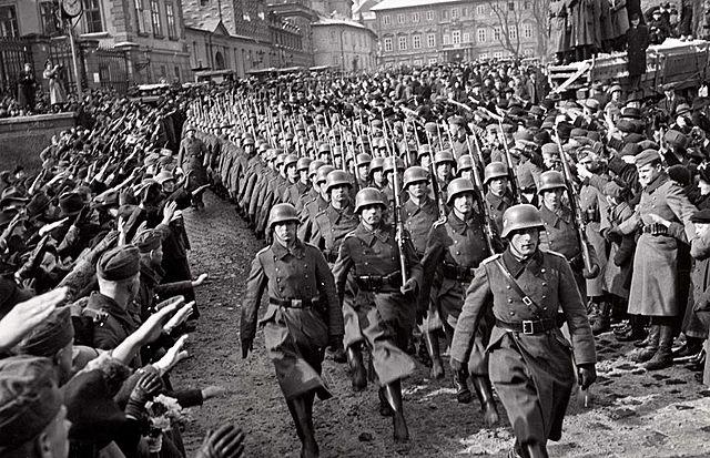 Le 15 mars 1939 : L'invasion de la Tchécoslovaquie