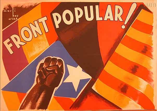 Febrer:Victoria del Front Popular a les eleccions catalanes