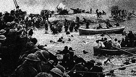 Du 26 May au 4 Juin: Bataille de Dunkerque