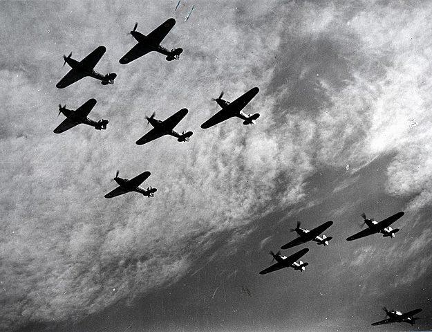 Le 10 Juillet 1940 : La Bataille d'Angleterre débuta
