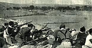 març:ofensiva franquista al front d'Aragó