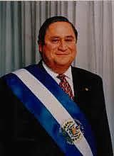 Armando Calderón Sol, quien gobernó en el periodo de 1994-1999