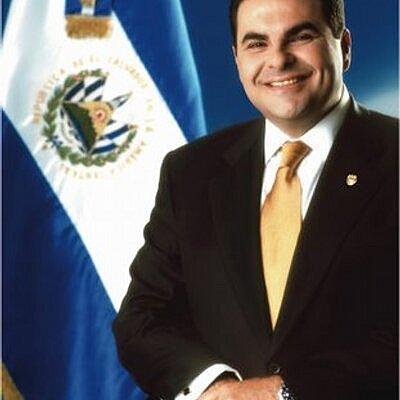 Elías Antonio Saca, quien gobernó en el periodo de 2004-2009