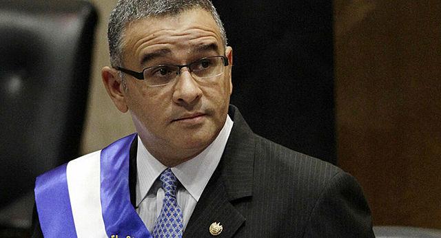 Mauricio Funes, quien gobernó en el periodo de 2009-2014